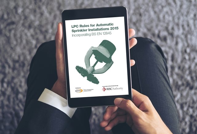 Update to LPC Rules for Automatic Sprinkler Installations 2015 is coming soon