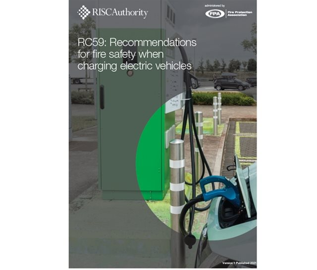 RC59 Fire safety when charging electric vehicles